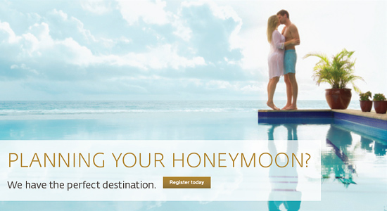Hilton Honeymoon Registry | Honeymoon Registry Sample Registries