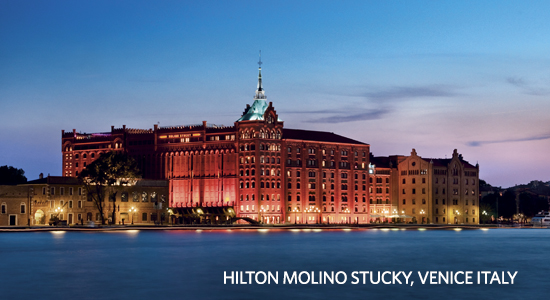 Hilton Honors Start Earning Free Hotel Stays Hilton Molino Stuckey Venice Italy