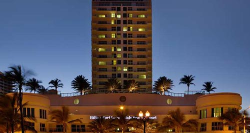 Hilton Fort Lauderdale Beach Resort Credit