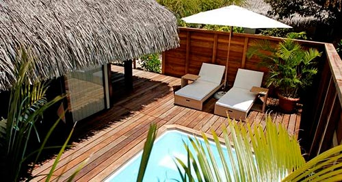 Our King Deluxe Garden Pool Bungalow