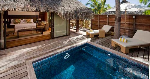 Our King Garden Pool Suite