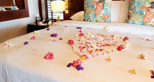 Exclusive Romantic Turndown Service