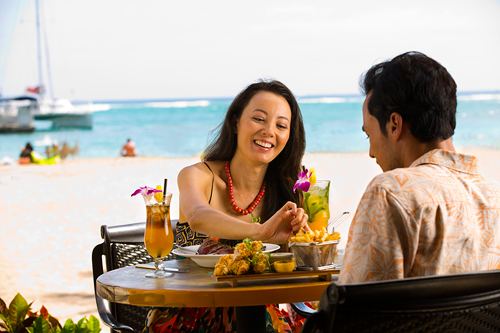 Oceanfront Dining at Bali Steak & Seafood