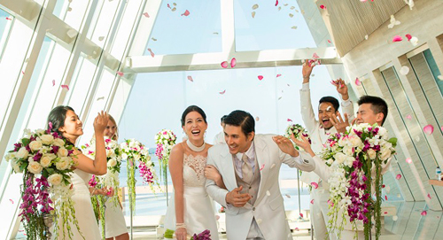 Our Wedding at Conrad Bali