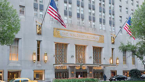 Waldorf Astoria New York Resort Credit