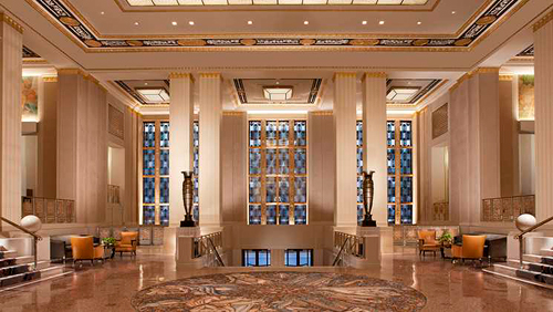 Trip Contribution to Waldorf Astoria New York