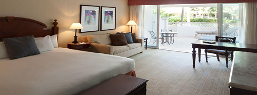 Our King Garden Lanai Room