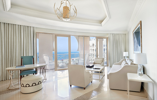 Our King Grand Junior Suite with View and Balcony