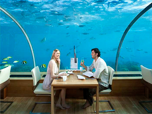 Dining Credit at Ithaa Undersea Restaurant