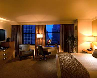 Our Deluxe Pure City View Room with King Bed