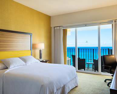 Our One Bedroom Oceanview King Suite