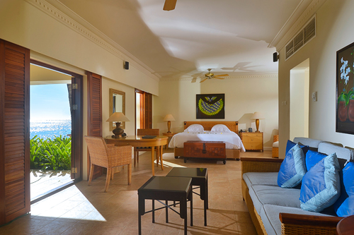 Our One Bedroom Suite with Lounge � Beach Access