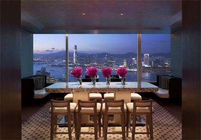Honeymoon Champagne at Conrad Hong Kong�s Executive Lounge