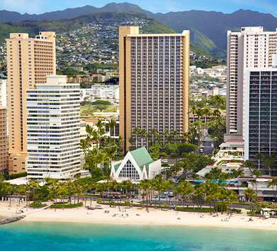 Hilton Waikiki Beach Resort Credit