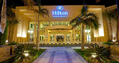 Trip Contribution to Hilton Hurghada Resort