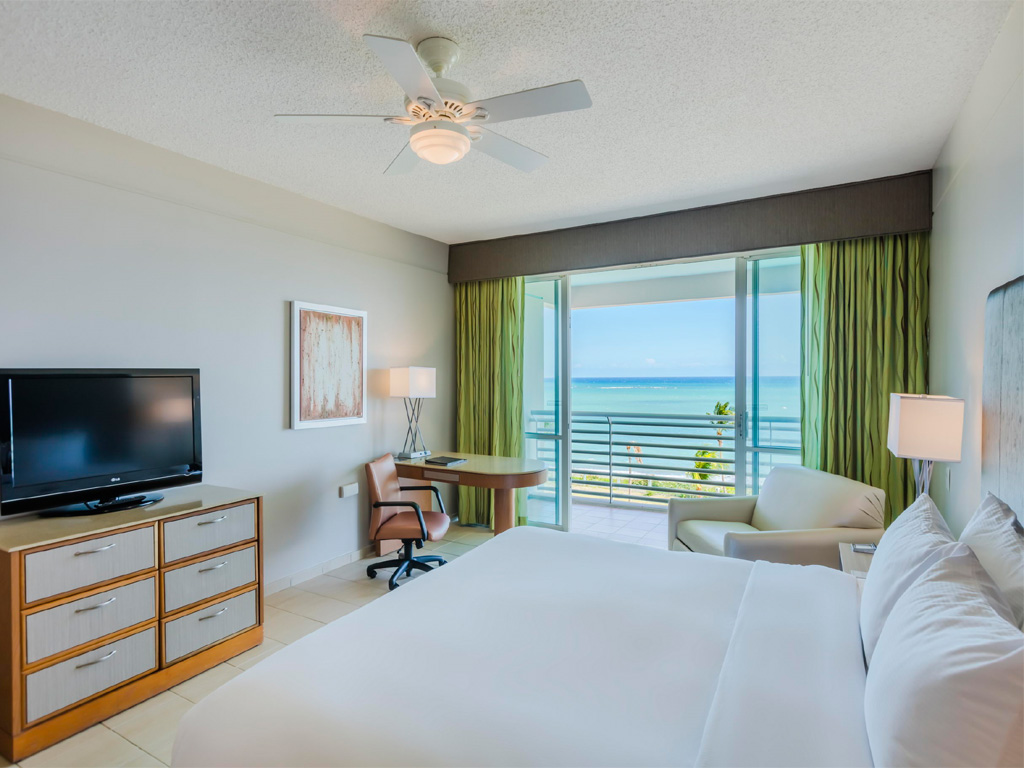 Our Oceanview Balcony Deluxe Room with King Bed