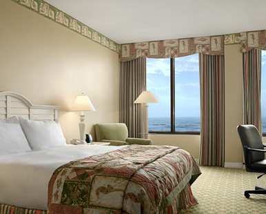 Our One King Bed Deluxe Room Gulf View