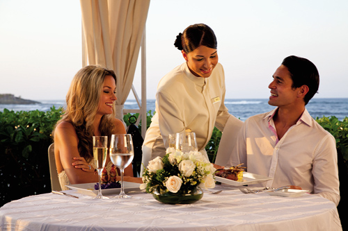 Romantic Beachfront Dinner for Two