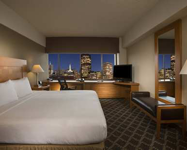 Our One King Bed Executive Floor City View Room