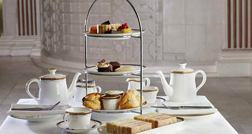 Afternoon Tea at the Waldorf