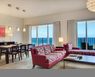 Our One King One Bedroom Executive Floor Suite Ocean View