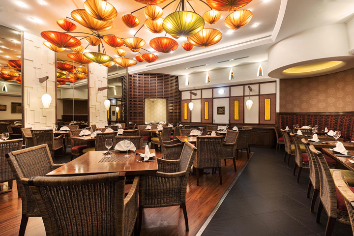 Dining at Royal Orchid Restaurant