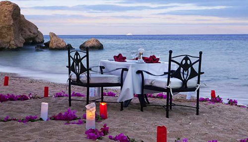 Four Elements Romantic Dinner