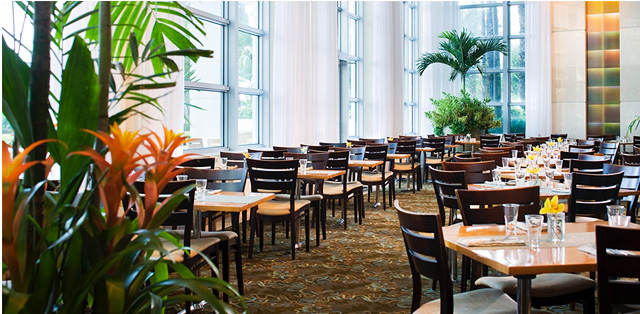 Dining at The Café