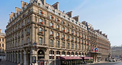 Trip Contribution to Hilton Paris Opera