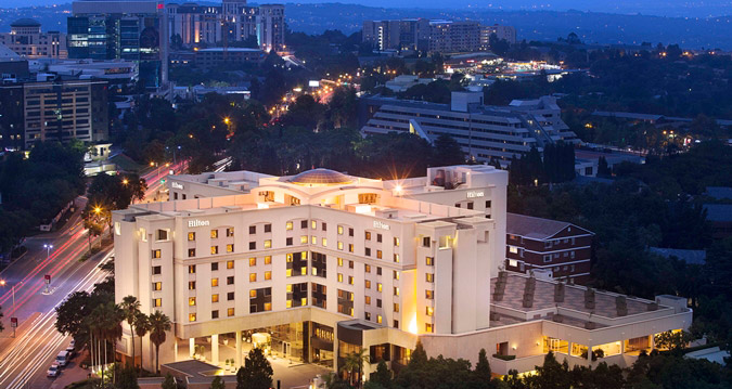 Hilton Sandton Resort Credit